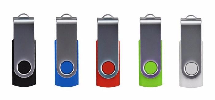 ENFAIN USB STICKS 5 PACK