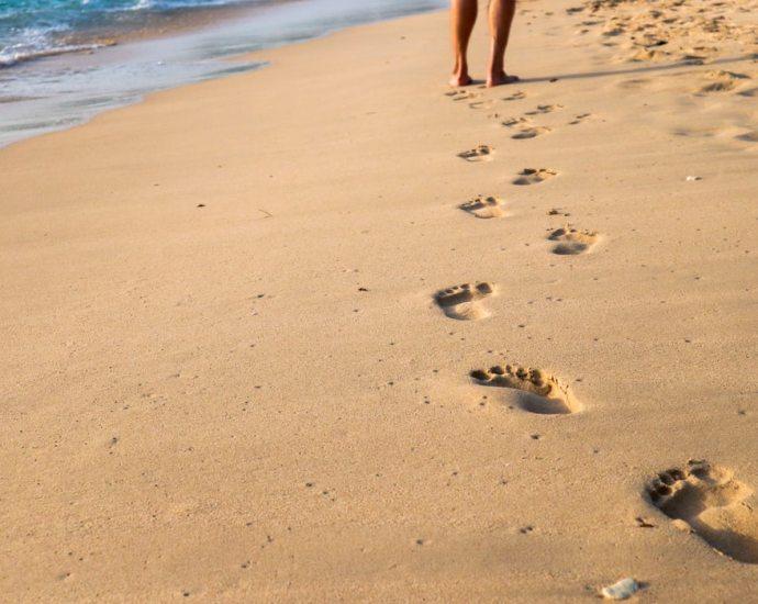 Fouler l'herbe pieds nus, et pour les plus chanceux d'entre nous qui sont en bord de mer, enfouir ses pieds sous le sable frais, l'espace d'un instant, amènent des sensations toutes simples