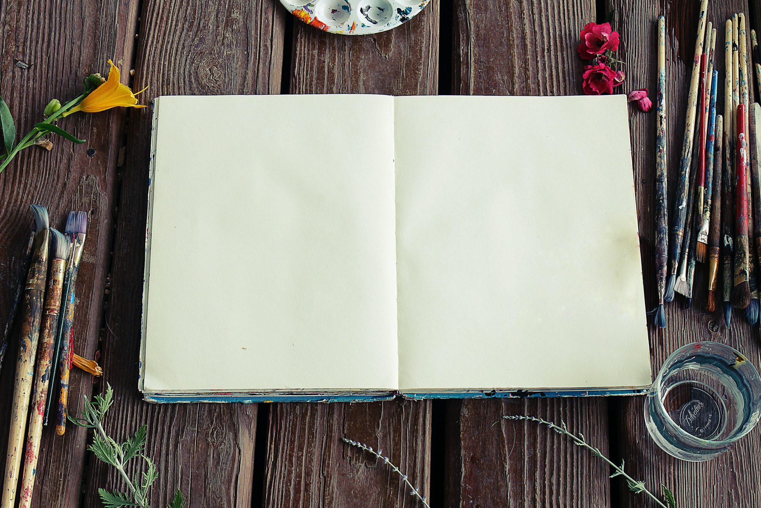Laissez aller vos envies et votre créativité sur votre journal.
