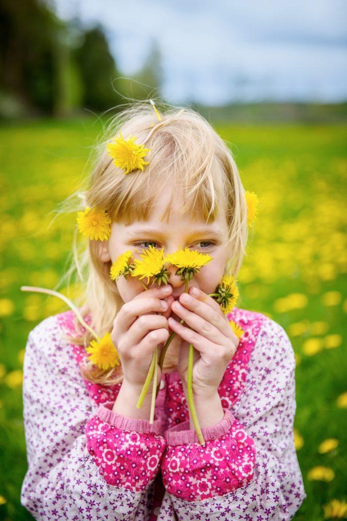 Les enfants adorent les pissenlits, de belles activités sont faisables grâce à eux.