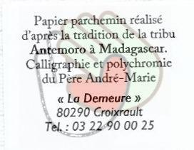 Parchemins du Père André Marie
