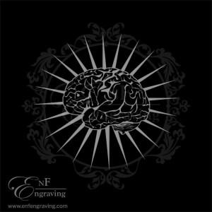 Brain Engraving Artwork