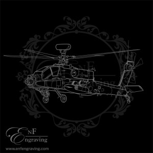 Apache Longbow Helicopter Artwork