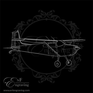 Cessna 180 Aircraft Artwork