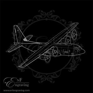 C130 Hercules Aircraft Artwork