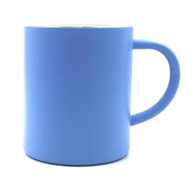 Light Blue Thermal Coffee Mug