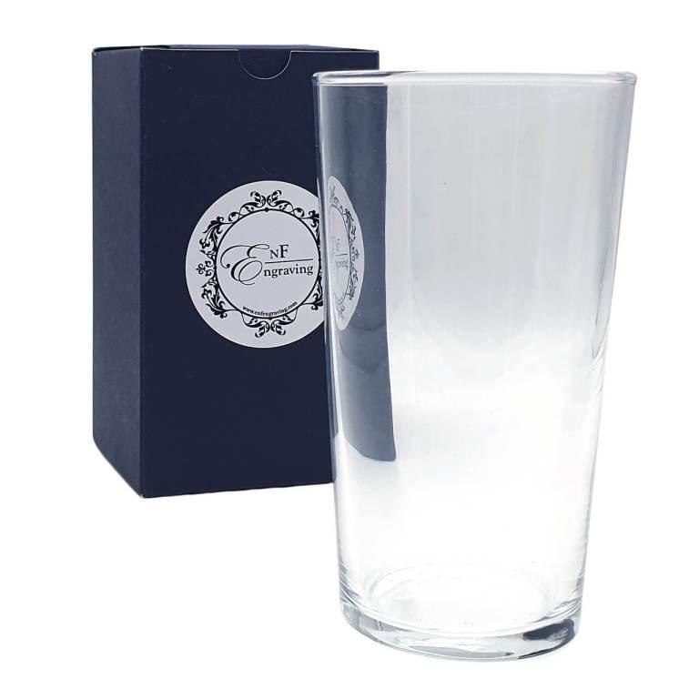 Personalised Beer Glass 520ml
