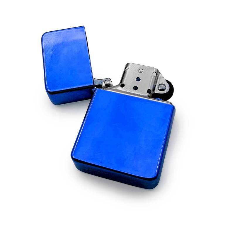 Blue Premium Cigarette Lighter