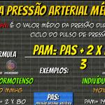 Cálculo da Pressão Arterial Média (PAM)
