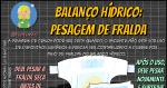 Balanço Hídrico: A Pesagem de Fralda