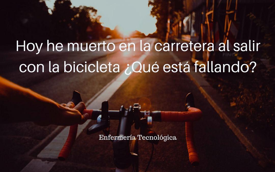 Hoy he muerto en la carretera al salir con la bicicleta ¿Qué está fallando?