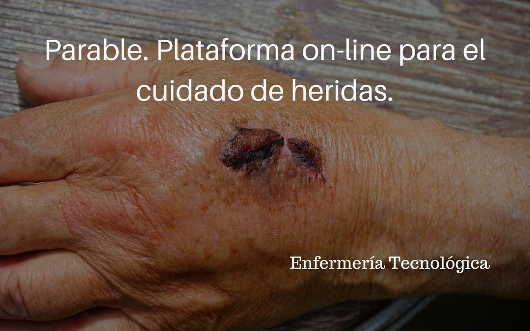 Parable. Plataforma on-line para el cuidado de heridas.
