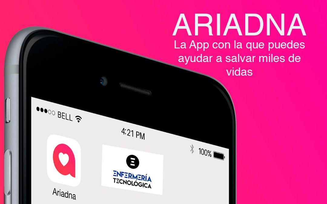 Ariadna. La App con la que puedes ayudar a salvar miles de vidas