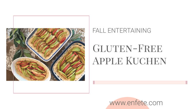 Gluten-Free Apple Kuchen a great replacement for Apple Pie at Thanksgiving