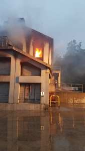 Fire Showing - Training Building