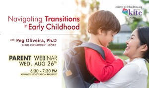 Parent Webinar: Navigating Transitions in Early Childhood @ online