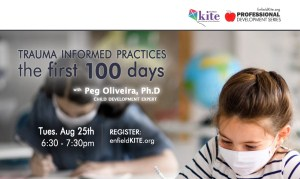 KITE PD: Trauma Informed Practice - the first 100 days @ online