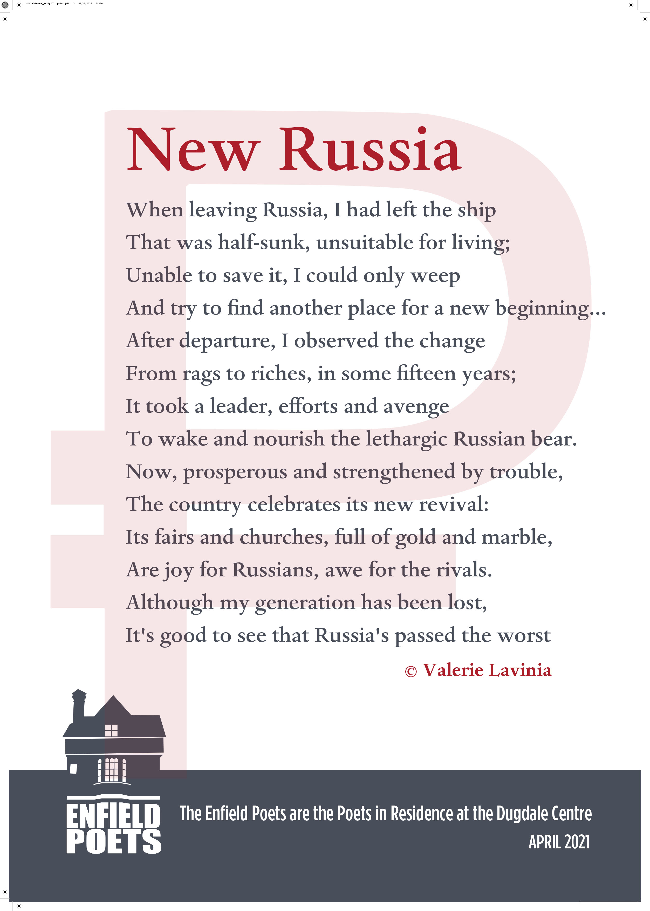 New Russia by Valerie Lavinia