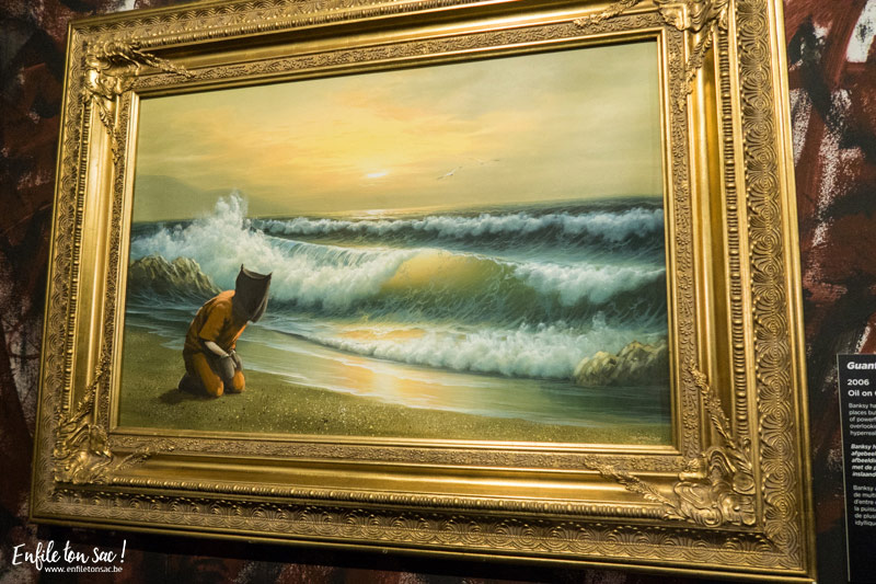 The art of banksy Anvers exhibition The Art of Banksy, le street artiste sexpose à Anvers