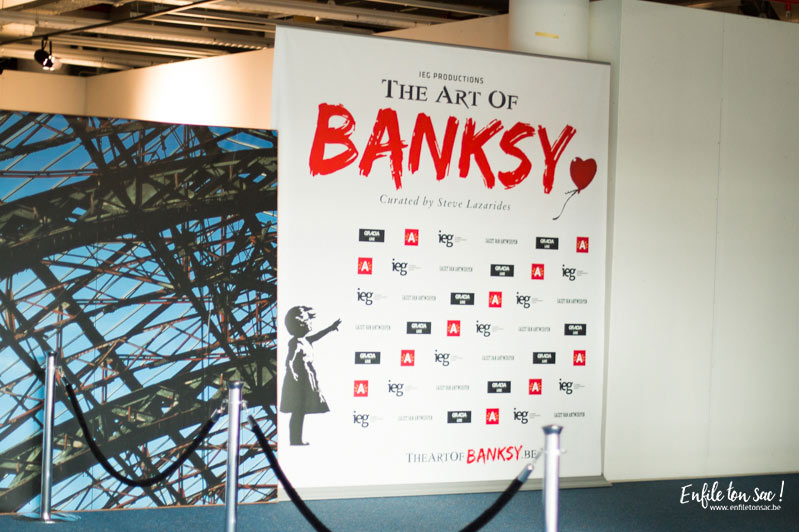 The art of banksy The Art of Banksy, le street artiste sexpose à Anvers