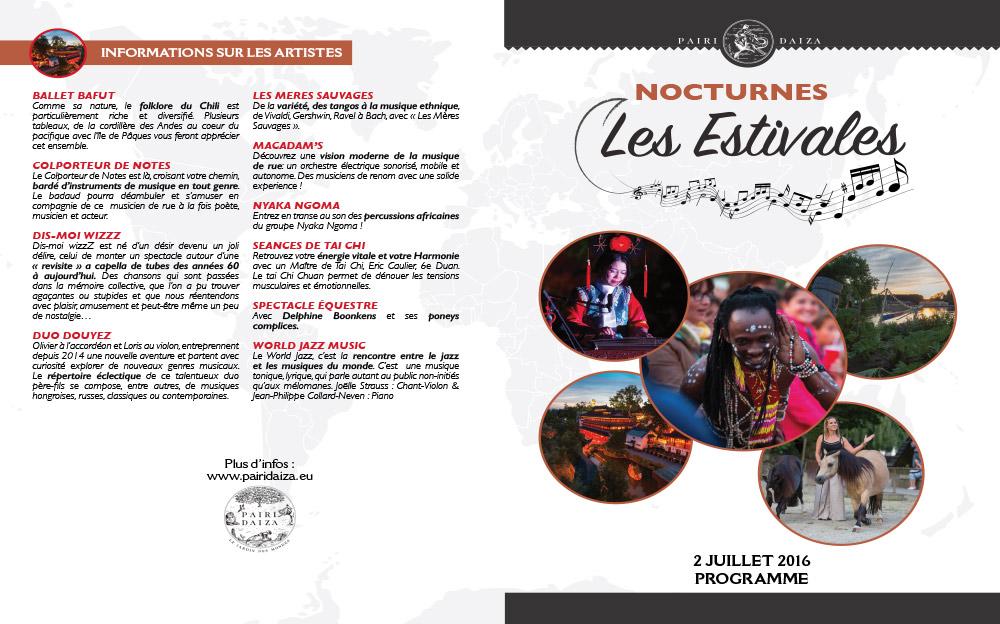 Pairi daiza estivales 2juillet programme 1 Les estivales de Pairi Daiza,  le parc ouvert jusquà 23h   dates, tarifs,info et programmes.