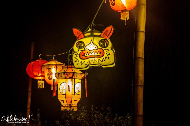 pairi daiza decorations 1 Les estivales de Pairi Daiza,  le parc ouvert jusquà 23h   dates, tarifs,info et programmes.