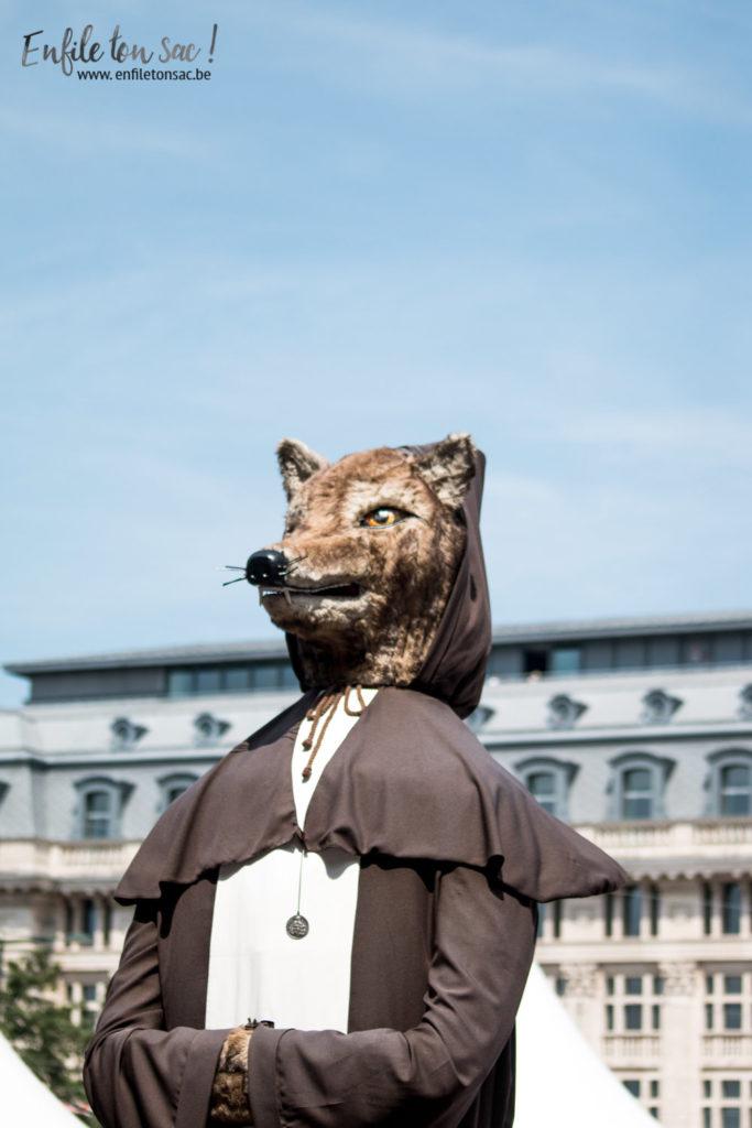 fete nationale belgique geant renard coupi 1 683x1024 Fête nationale 2016, un 21 juillet à Bruxelles