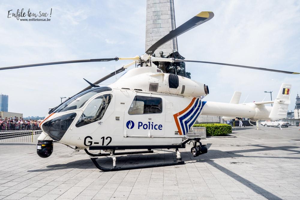 fete nationale belgique police helicoptere 1 Fête nationale 2016, un 21 juillet à Bruxelles