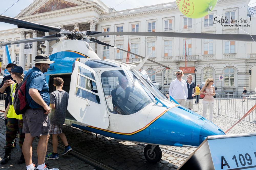 fete nationale helicoptere militaire belgique Fête nationale 2016, un 21 juillet à Bruxelles