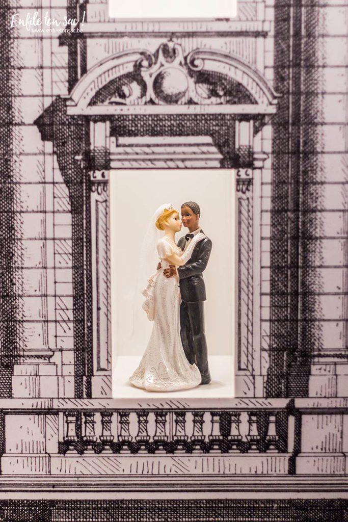 just married exposition bruxelles musee dentelle 683x1024 Just Married, lhistoire du mariage sexpose au musée du costume et de la dentelle de Bruxelles.