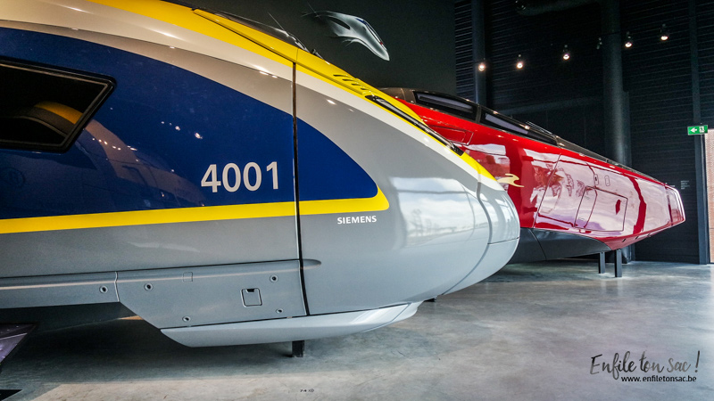 train world trains thalys Train World, le musée du train ou une totale immersion dans lunivers des chemins de fer