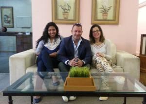 Rafaela Militão, Rafael Freire e Liliana Rodrigues