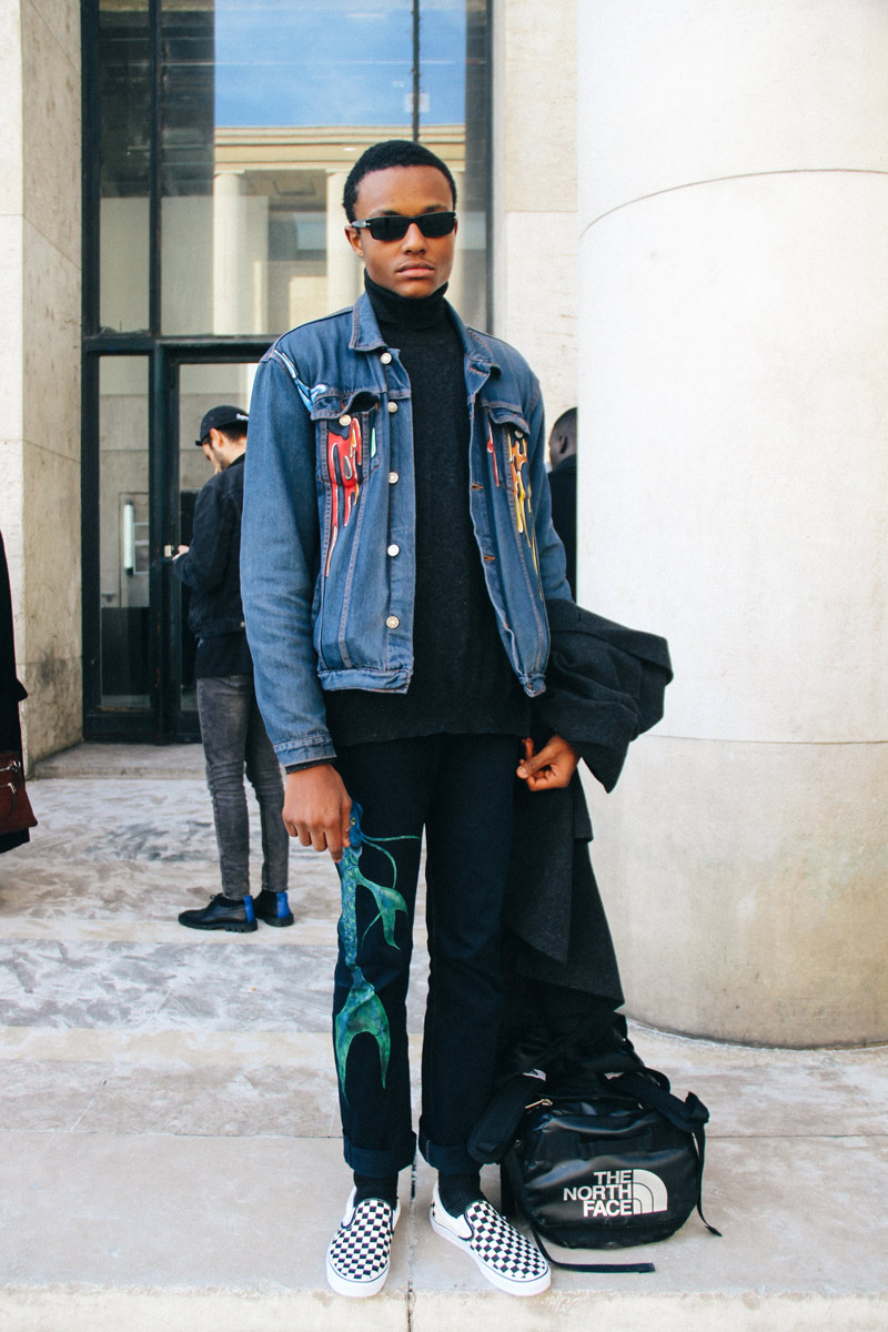 Palais de Tokyo - Favorite street looks from Paris Men's Fashion Week ( January, 2017 )