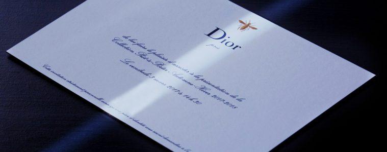 Watch the FW17 Dior runway show live via ENFNTS TERRIBLES