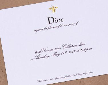 Livestream Dior Cruise 2018 collection show