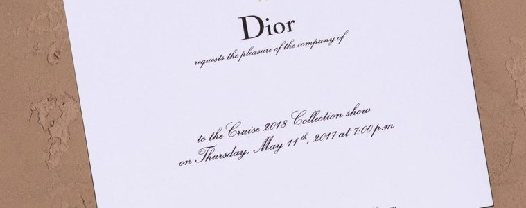 Livestream Dior Cruise 2018 collection show