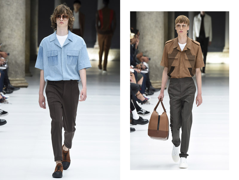 Cuban collar shirts revisted: from the runway to the streets