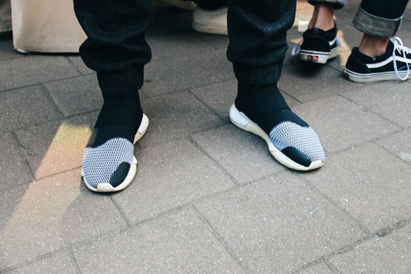 LOOK XXXV: Details - Adidas Y3 Qasa sneakers