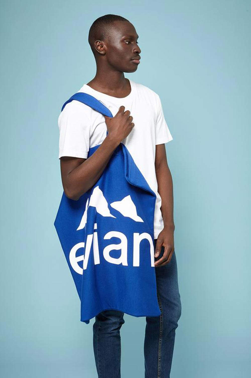 Evian Oversize tote