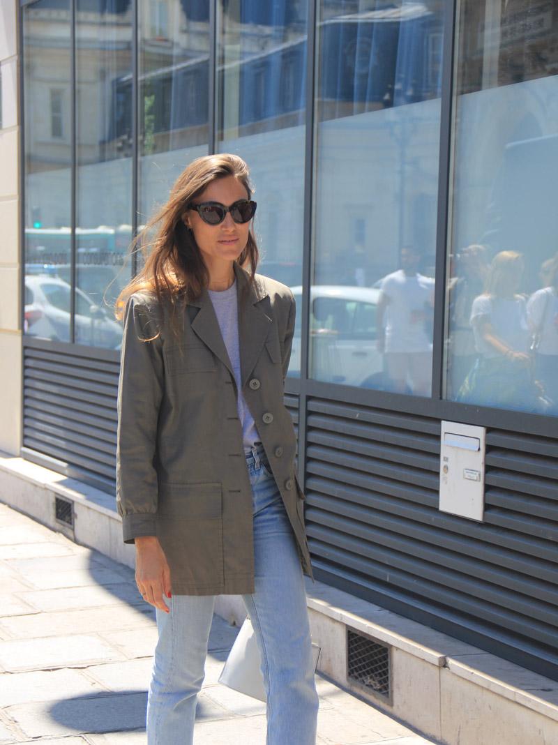 LOOK XXXVIII: Casual Parisian Style - Paris Street Style