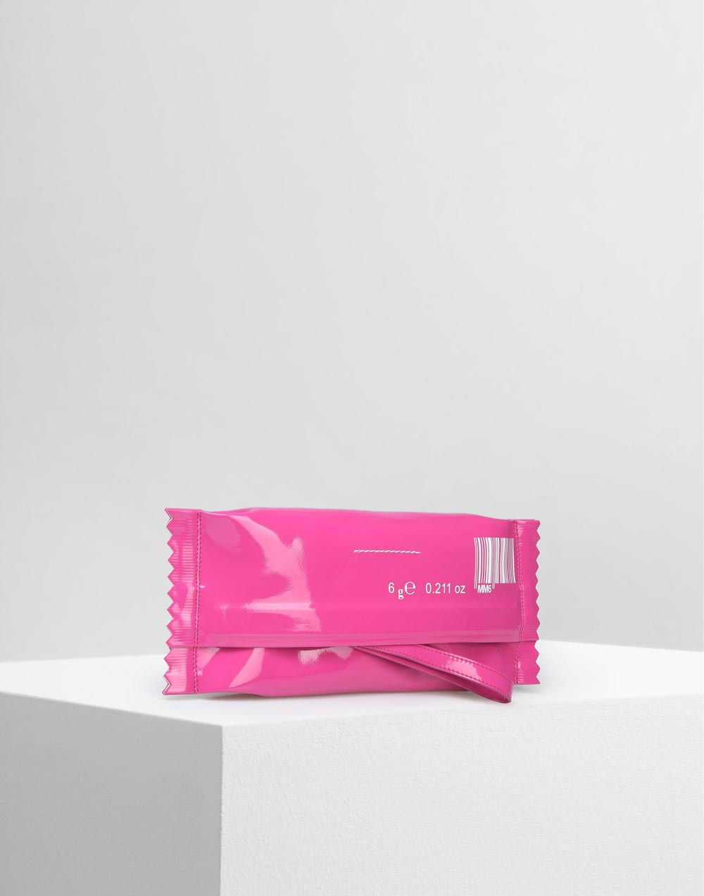 MM6 Patent Candy Wrapper Pouch