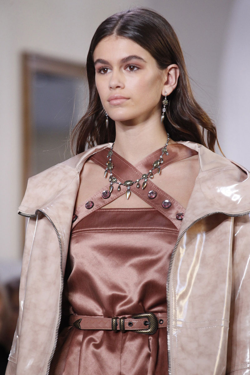 This Was Kaia Gerber's First Time At Milan Fashion Week - ENFNTSTERRIBLESMAGAZINE