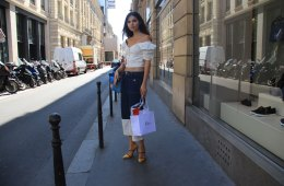 LOOK LIV: Off-Shoulder Top - Enfnts Terribles