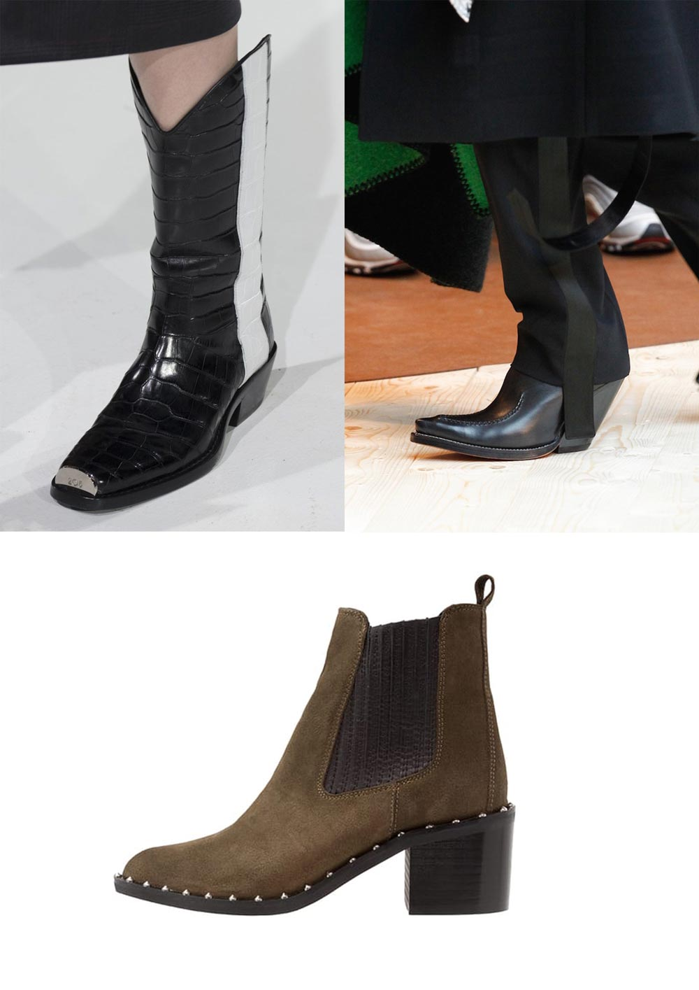 shoes boots trends fw17