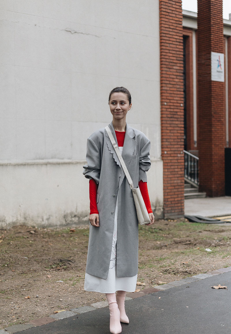 Paris Street Style: Fashion Week SS18 Ready-To-Wear by Jean-Philippe Joseph for ENFNTSTERRIBLES