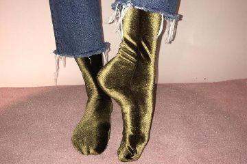 Inattendu velvet socks