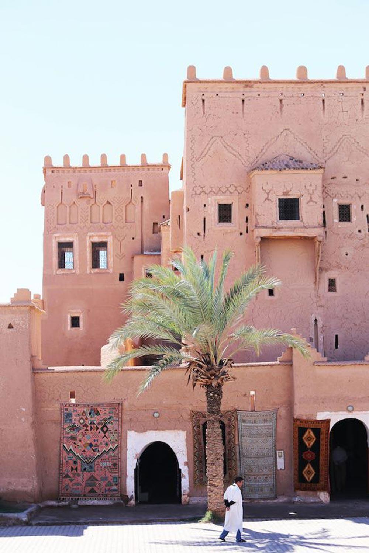 Marrakesh street view
