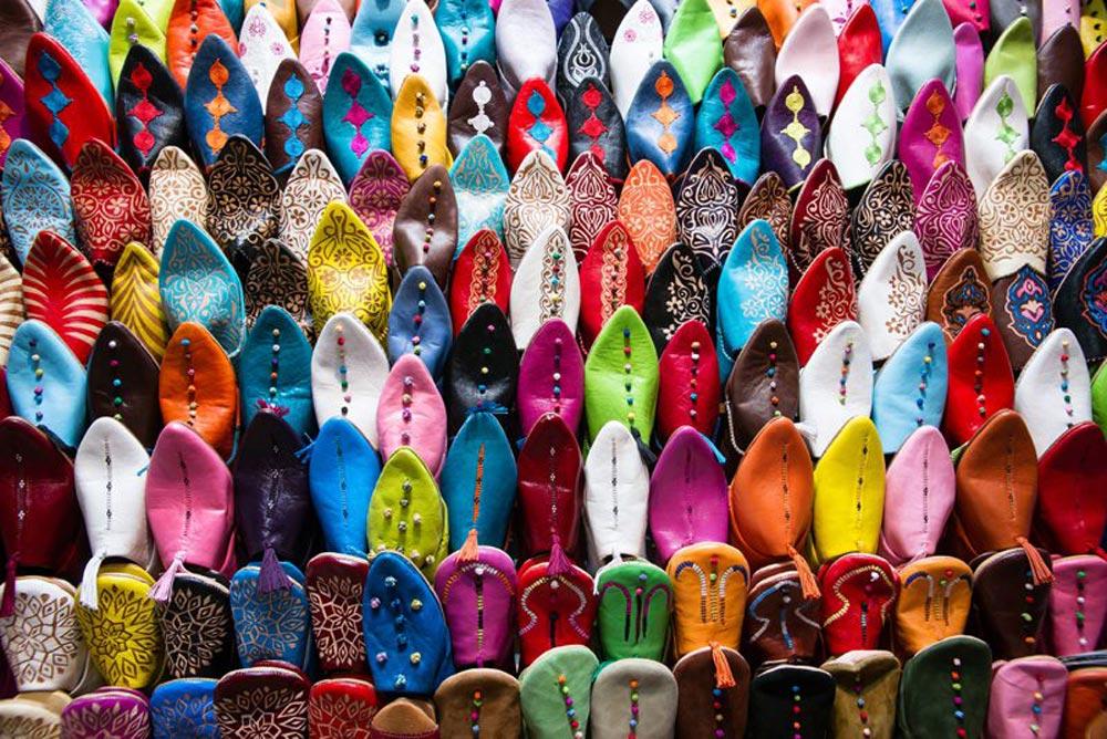 Slipper Souk Marrakesh