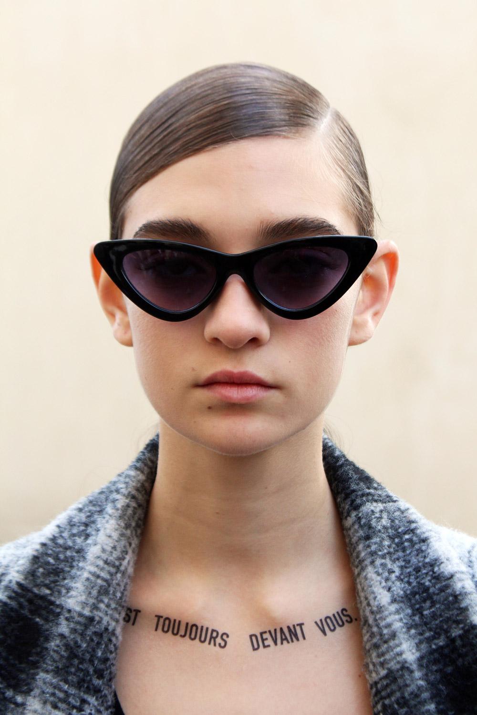 Dior Couture model
