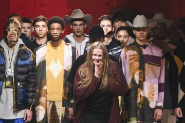 Astrid Andersen FW18 Runway Show in London